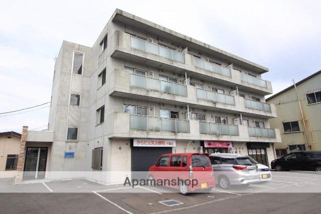北海道千歳市、長都駅徒歩3分の築9年 4階建の賃貸マンション