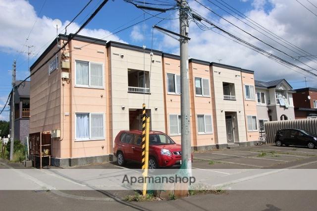 北海道千歳市、千歳駅徒歩36分の築15年 2階建の賃貸アパート