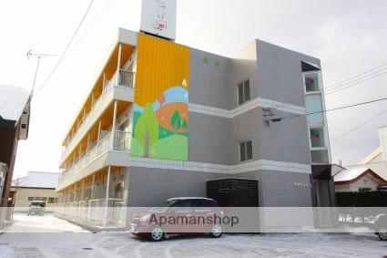 北海道千歳市の築27年 3階建の賃貸アパート