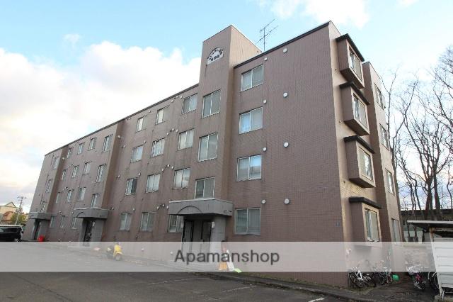 北海道千歳市の築23年 4階建の賃貸マンション