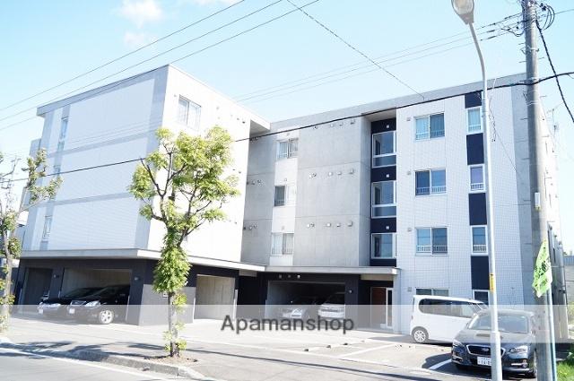 北海道千歳市、千歳駅徒歩15分の築9年 4階建の賃貸マンション