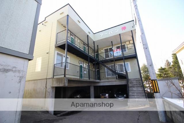 北海道千歳市、千歳駅徒歩13分の築23年 2階建の賃貸アパート