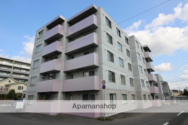 北海道千歳市、千歳駅徒歩25分の築6年 5階建の賃貸マンション