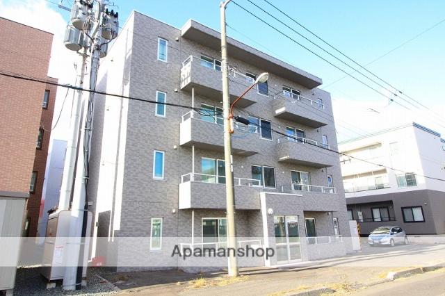北海道千歳市、千歳駅徒歩24分の築3年 4階建の賃貸マンション