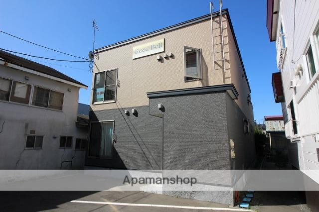 北海道千歳市、千歳駅徒歩8分の築4年 2階建の賃貸アパート