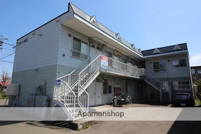 北海道千歳市、千歳駅徒歩6分の築24年 2階建の賃貸アパート