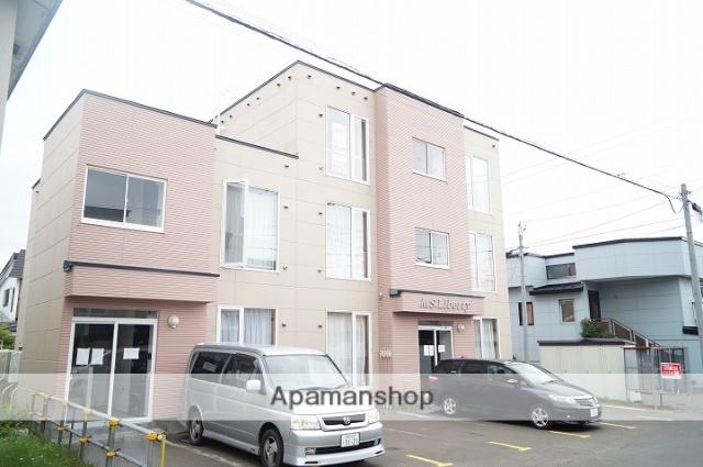 北海道千歳市の築16年 3階建の賃貸アパート