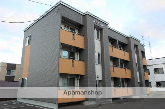 北海道千歳市の築7年 3階建の賃貸アパート