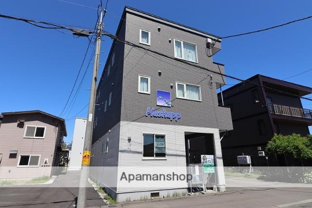 北海道千歳市、千歳駅徒歩15分の築7年 3階建の賃貸アパート