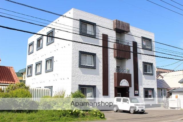 北海道千歳市、千歳駅徒歩19分の築25年 3階建の賃貸マンション