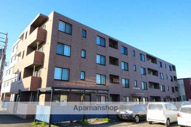 北海道千歳市の築8年 4階建の賃貸マンション