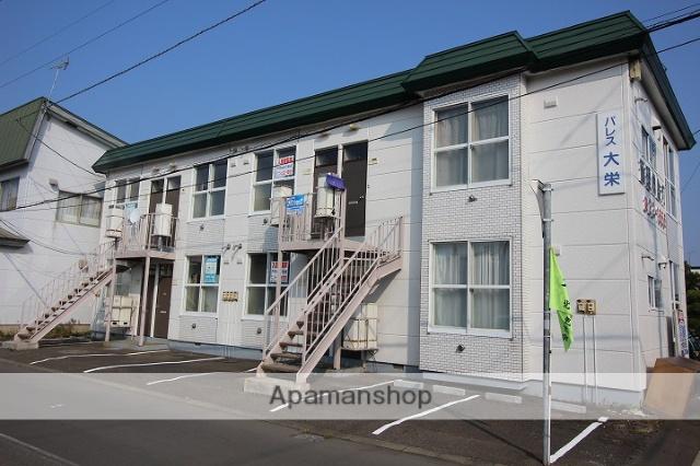 北海道千歳市、千歳駅徒歩18分の築30年 2階建の賃貸アパート