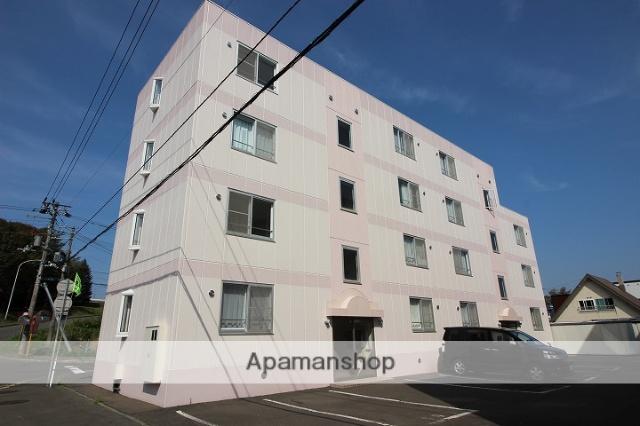 北海道千歳市、千歳駅徒歩13分の築18年 4階建の賃貸マンション