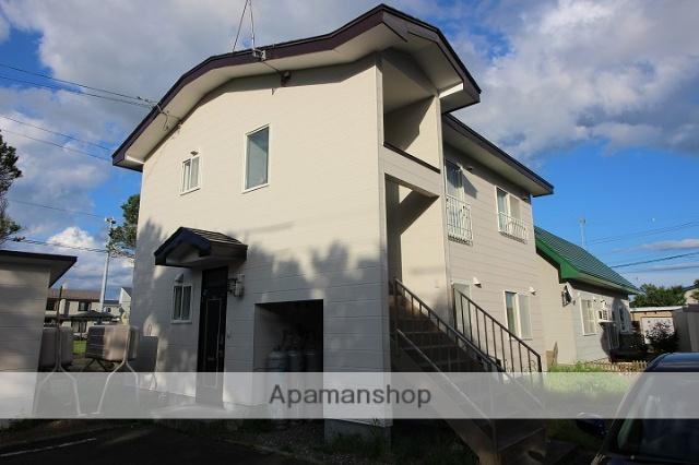 北海道千歳市、千歳駅徒歩16分の築20年 2階建の賃貸アパート