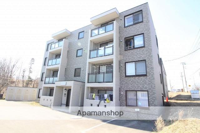 北海道千歳市、千歳駅徒歩18分の築7年 4階建の賃貸マンション