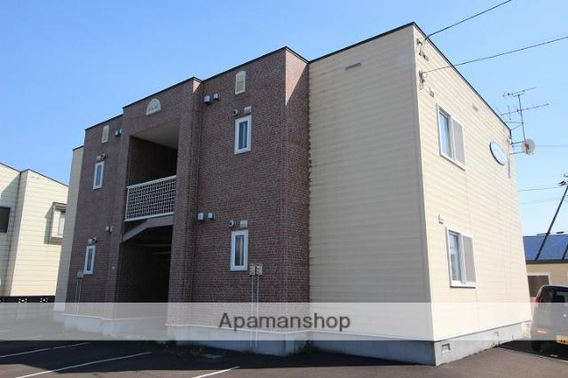 北海道千歳市の築14年 2階建の賃貸アパート