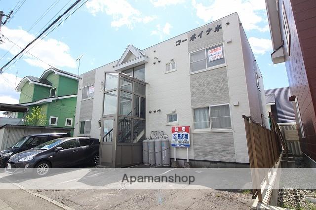 北海道千歳市、千歳駅徒歩25分の築26年 2階建の賃貸アパート