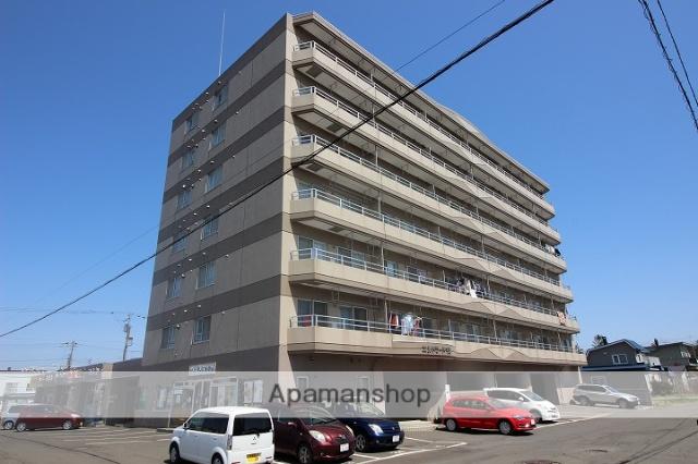 北海道千歳市、千歳駅徒歩8分の築19年 7階建の賃貸マンション