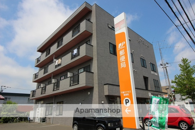 北海道千歳市、千歳駅徒歩14分の築19年 4階建の賃貸マンション