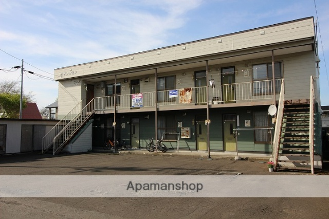 北海道千歳市、千歳駅徒歩20分の築30年 2階建の賃貸アパート