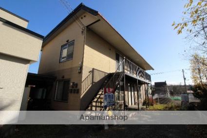 北海道千歳市、千歳駅徒歩18分の築35年 2階建の賃貸アパート