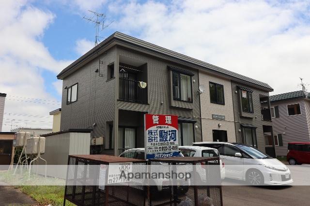北海道千歳市、長都駅徒歩10分の築17年 2階建の賃貸アパート