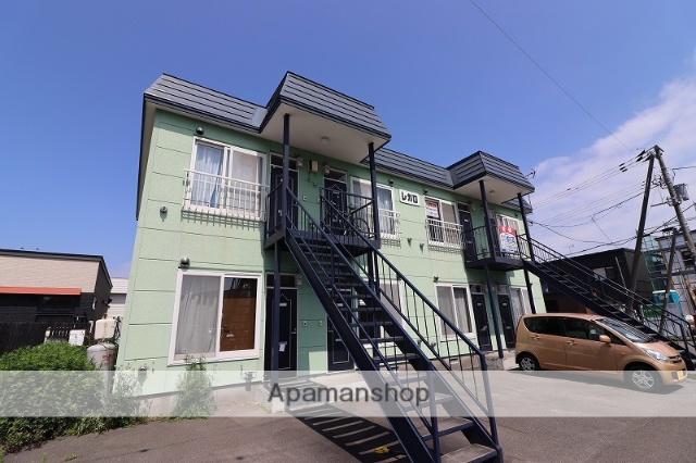 北海道千歳市の築18年 2階建の賃貸アパート