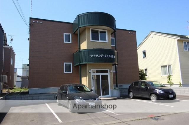 北海道千歳市、長都駅徒歩10分の築15年 2階建の賃貸アパート