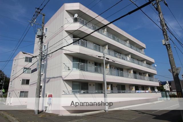 北海道千歳市、千歳駅徒歩13分の築19年 4階建の賃貸マンション