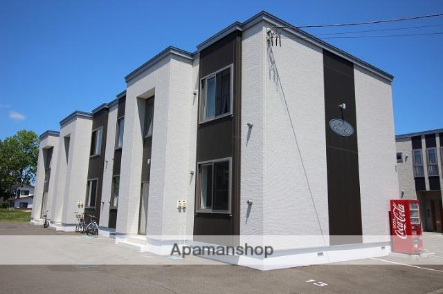 北海道千歳市の築4年 2階建の賃貸アパート