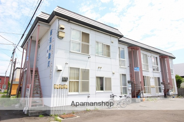 北海道千歳市、千歳駅徒歩18分の築29年 2階建の賃貸アパート