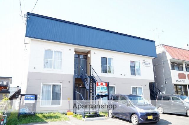 北海道千歳市の築11年 2階建の賃貸アパート