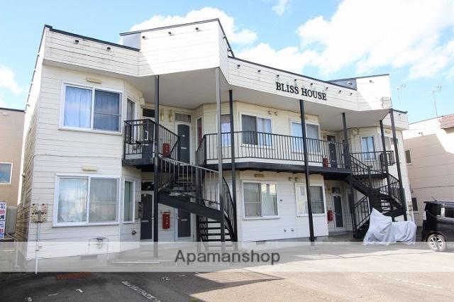 北海道千歳市、千歳駅徒歩18分の築27年 2階建の賃貸アパート