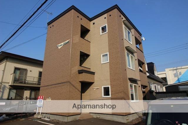 北海道千歳市、千歳駅徒歩12分の築13年 3階建の賃貸アパート
