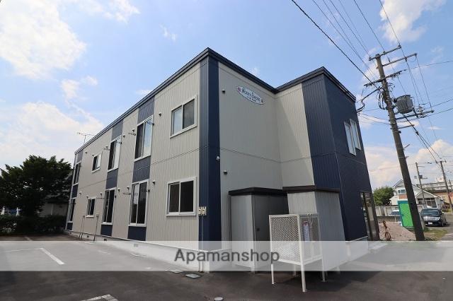 北海道千歳市、千歳駅徒歩9分の築9年 2階建の賃貸アパート