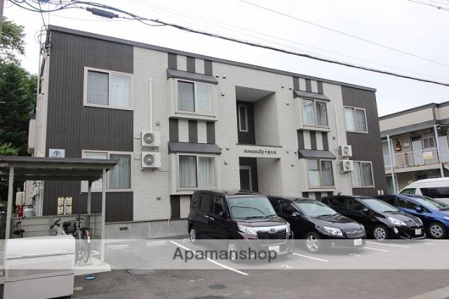北海道千歳市、千歳駅徒歩10分の築3年 2階建の賃貸アパート