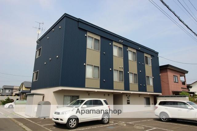 北海道千歳市、千歳駅徒歩25分の築7年 3階建の賃貸アパート