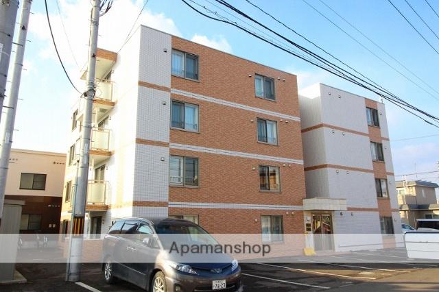 北海道千歳市の築2年 4階建の賃貸マンション