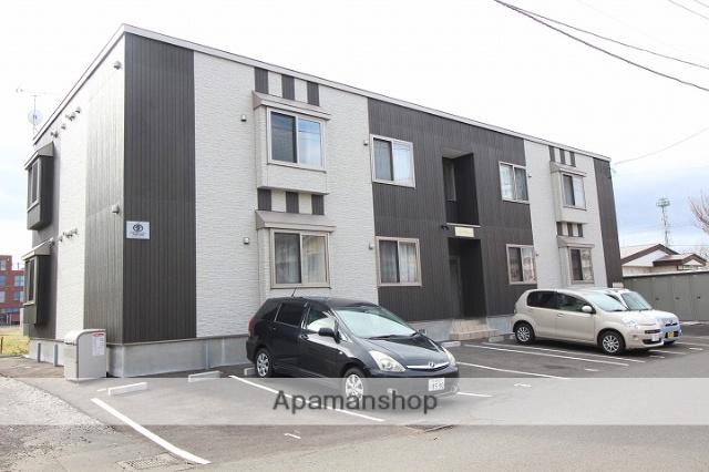 北海道千歳市、千歳駅徒歩12分の築3年 2階建の賃貸アパート