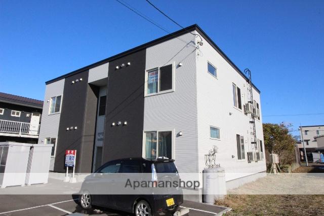 北海道千歳市、千歳駅徒歩18分の築2年 2階建の賃貸アパート