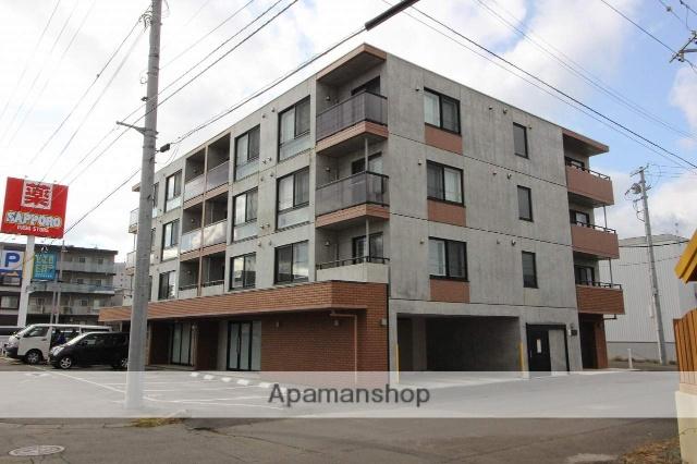 北海道千歳市、千歳駅徒歩5分の築1年 4階建の賃貸マンション