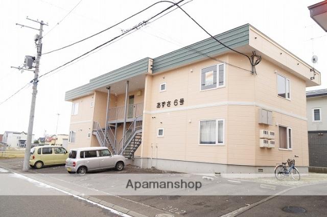 北海道千歳市、長都駅徒歩25分の築21年 2階建の賃貸アパート