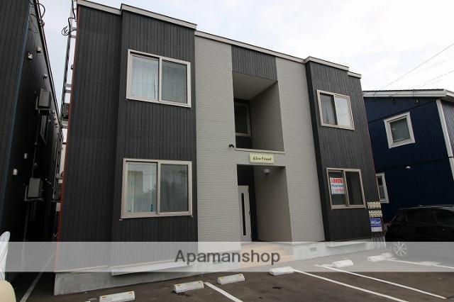 北海道千歳市、千歳駅徒歩8分の築3年 2階建の賃貸アパート