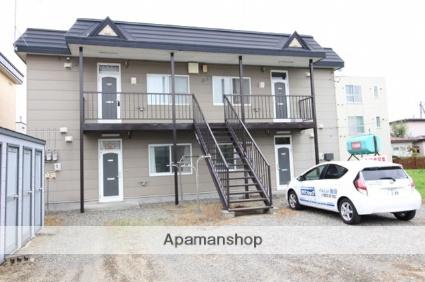北海道千歳市の築23年 2階建の賃貸アパート