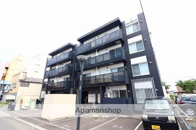 北海道千歳市、千歳駅徒歩14分の築2年 4階建の賃貸マンション