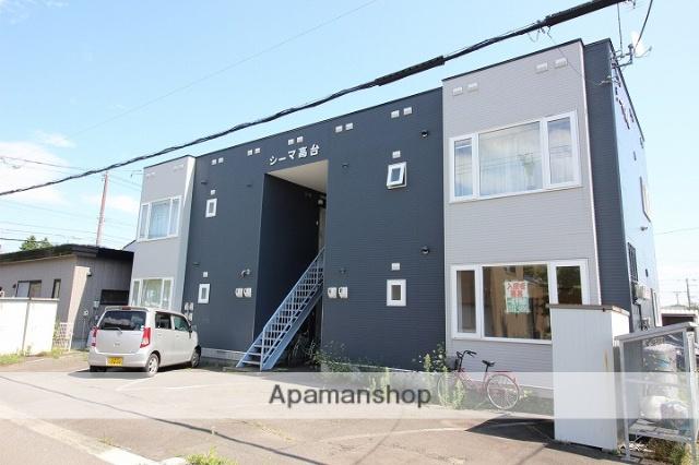 北海道千歳市、千歳駅徒歩19分の築25年 2階建の賃貸アパート