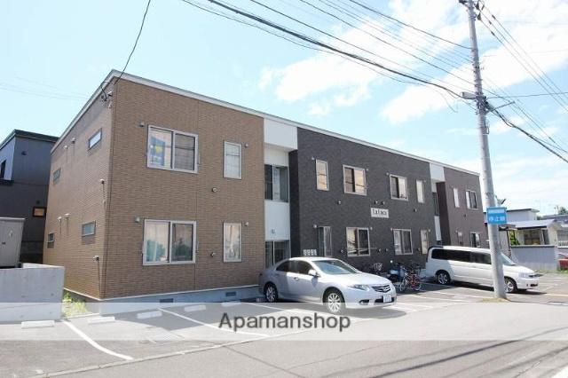 北海道千歳市、千歳駅徒歩29分の築2年 2階建の賃貸アパート