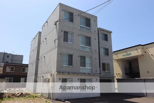 北海道千歳市、千歳駅徒歩16分の築2年 4階建の賃貸マンション