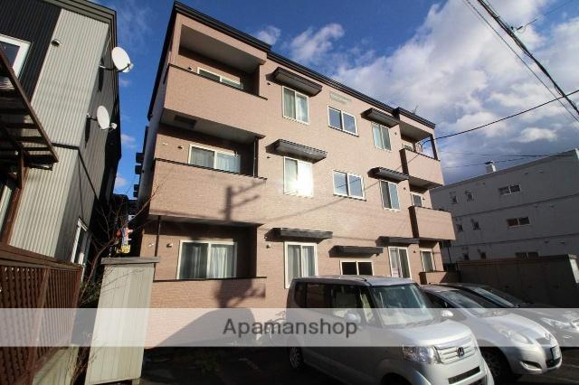 北海道千歳市、千歳駅徒歩17分の築8年 3階建の賃貸アパート