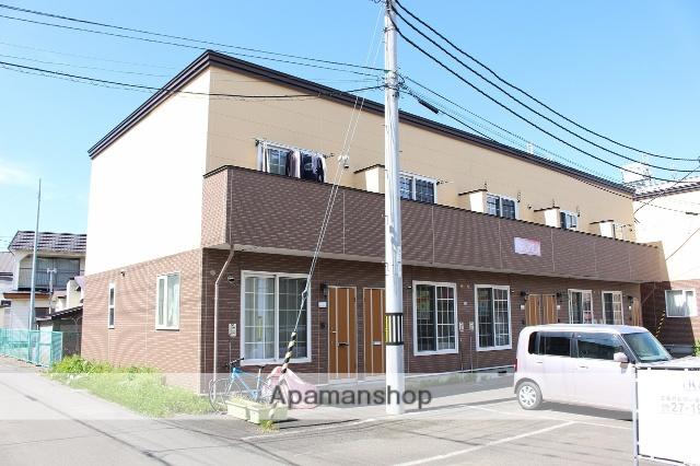 北海道千歳市の築9年 2階建の賃貸テラスハウス